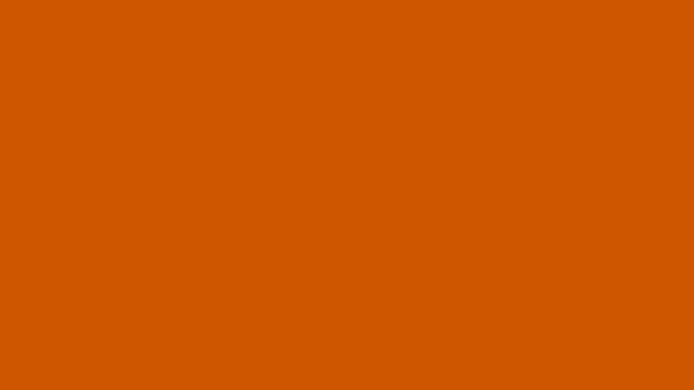 1366x768 Tenne Tawny Solid Color Background