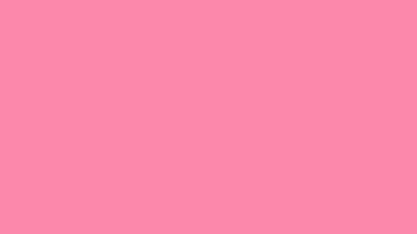 1366x768 Tickle Me Pink Solid Color Background