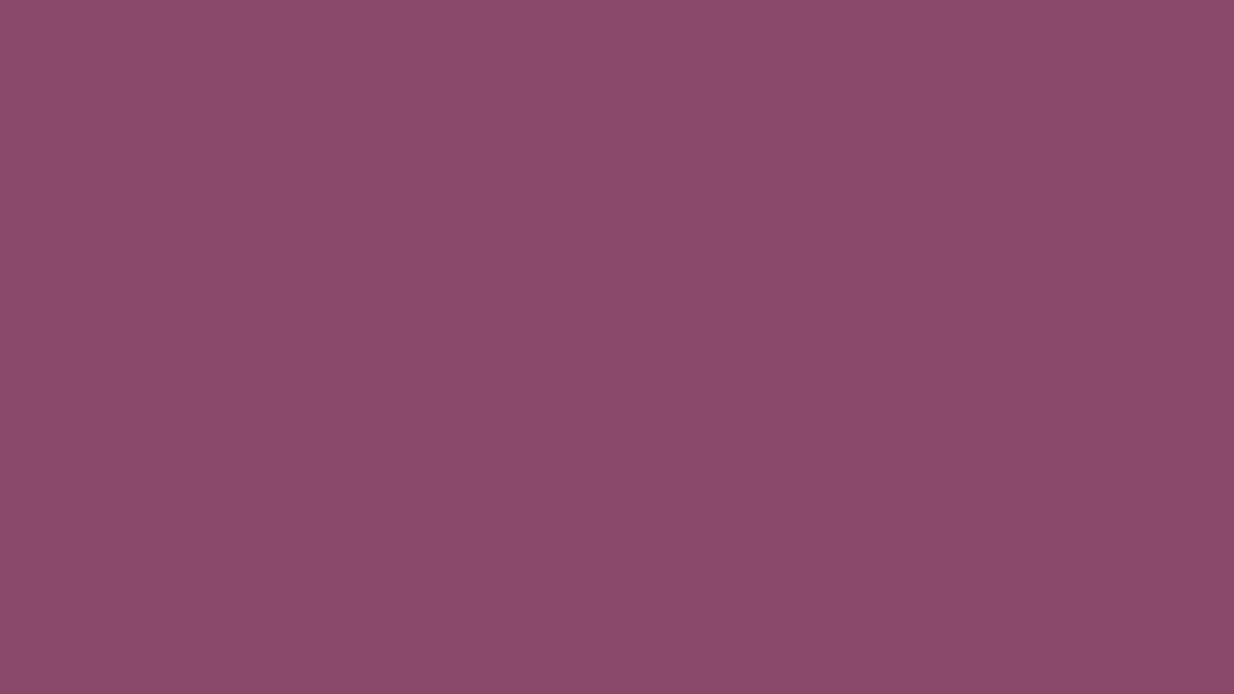 1366x768 Twilight Lavender Solid Color Background