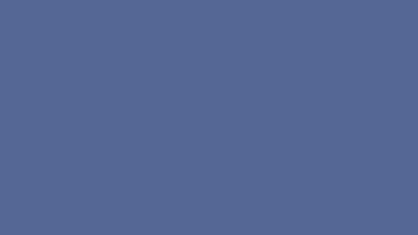 1366x768 UCLA Blue Solid Color Background