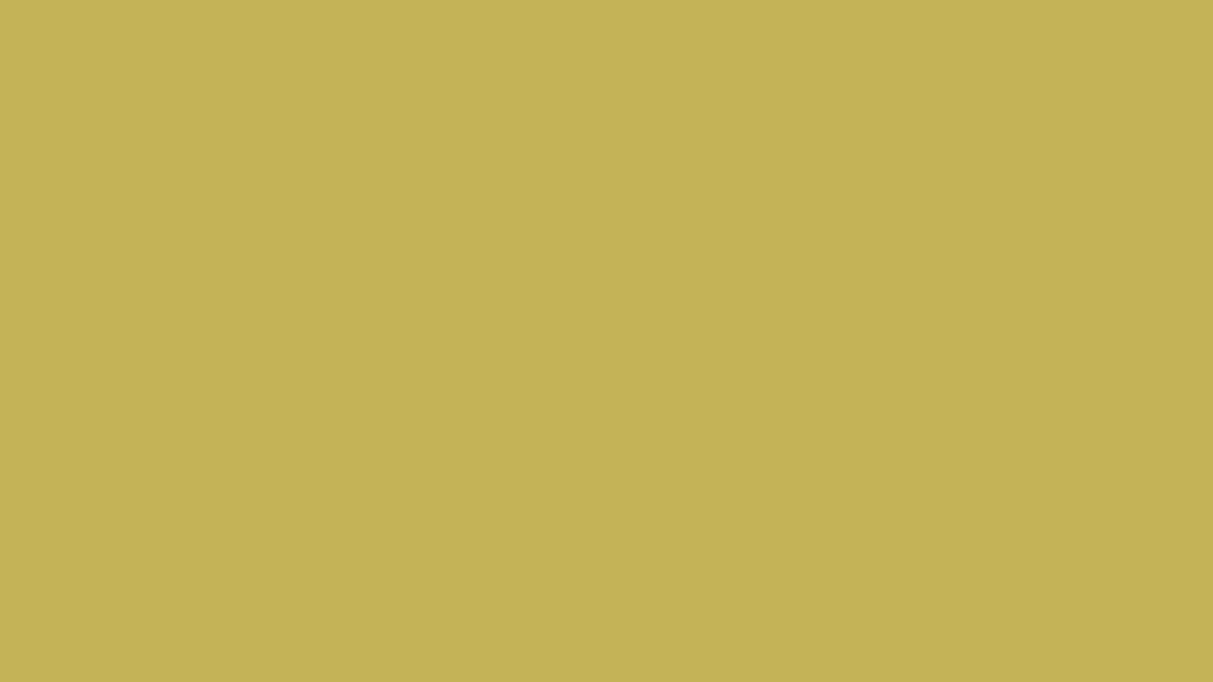 1366x768 Vegas Gold Solid Color Background