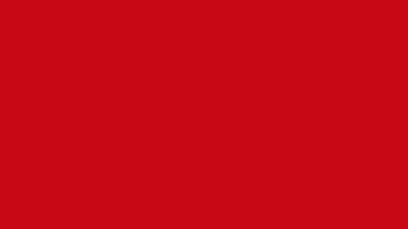 1366x768 Venetian Red Solid Color Background