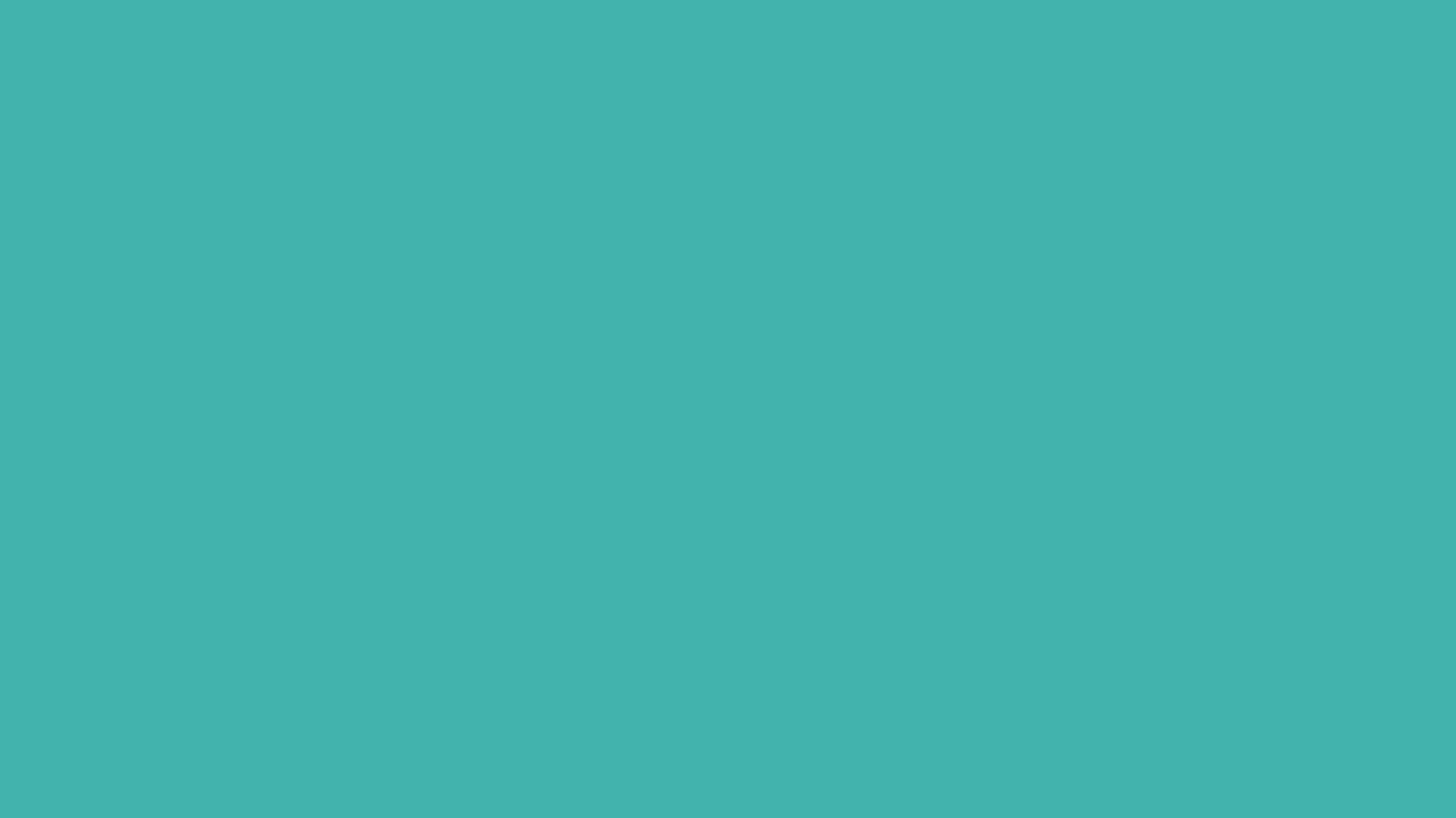 1366x768 Verdigris Solid Color Background