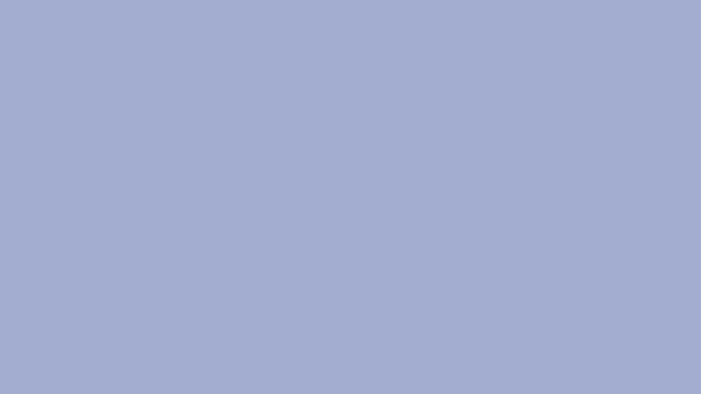 1366x768 Wild Blue Yonder Solid Color Background