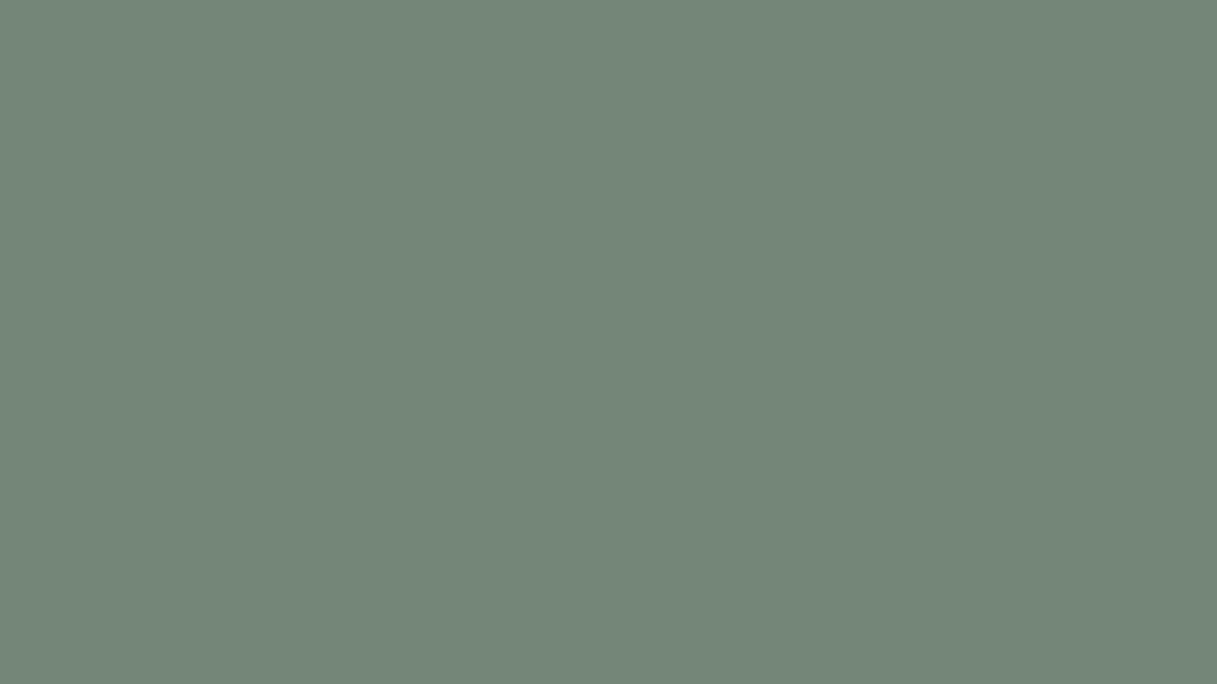 1366x768 Xanadu Solid Color Background