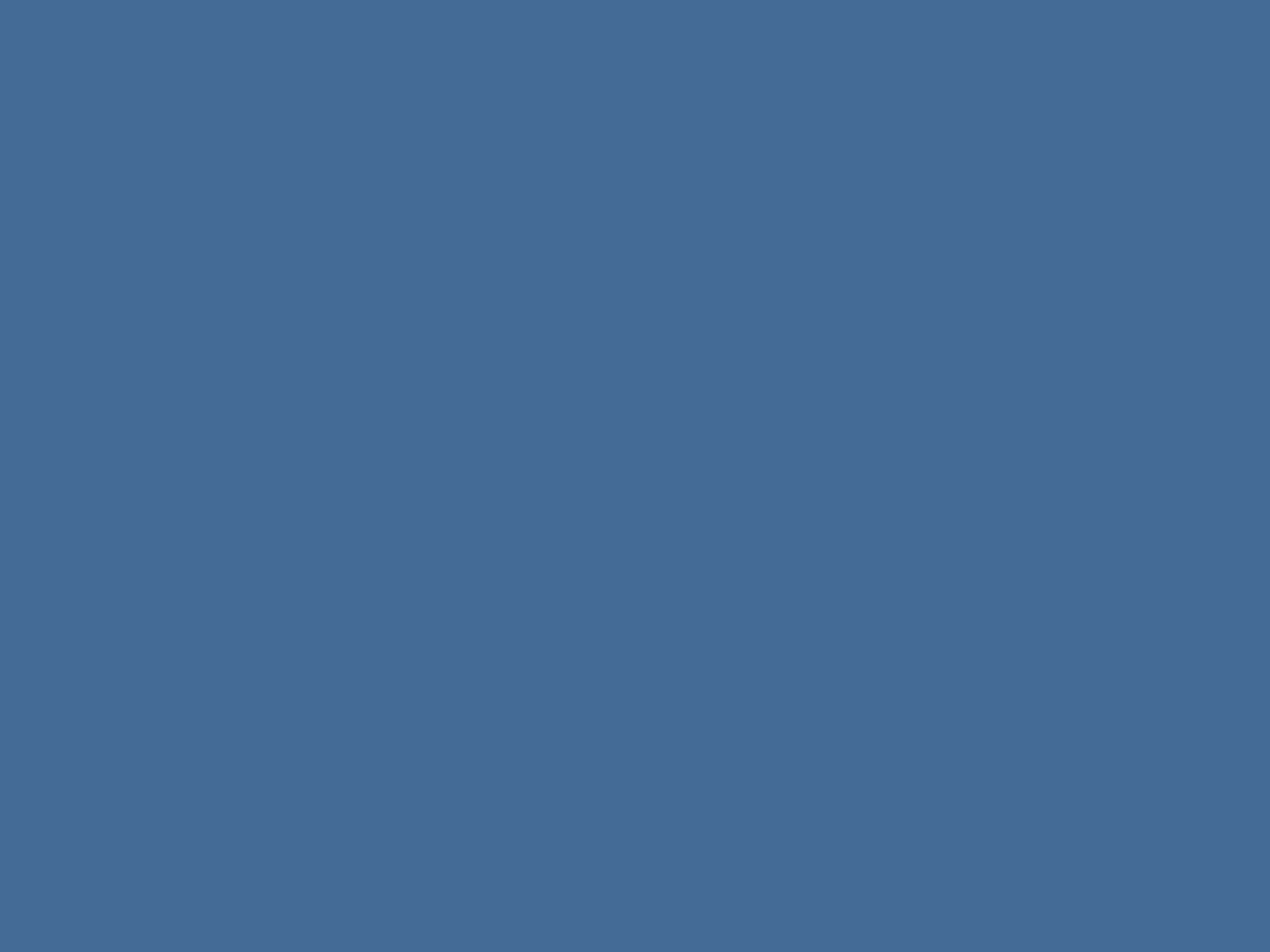 1400x1050 Queen Blue Solid Color Background