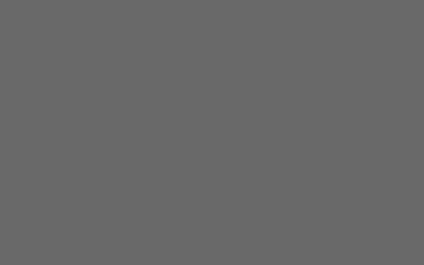 1440x900 Dim Gray Solid Color Background