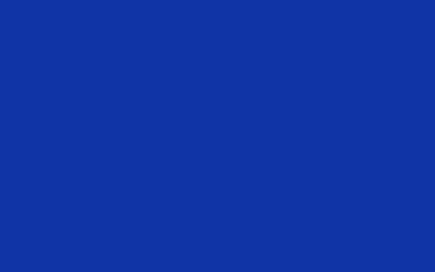 1440x900 Egyptian Blue Solid Color Background