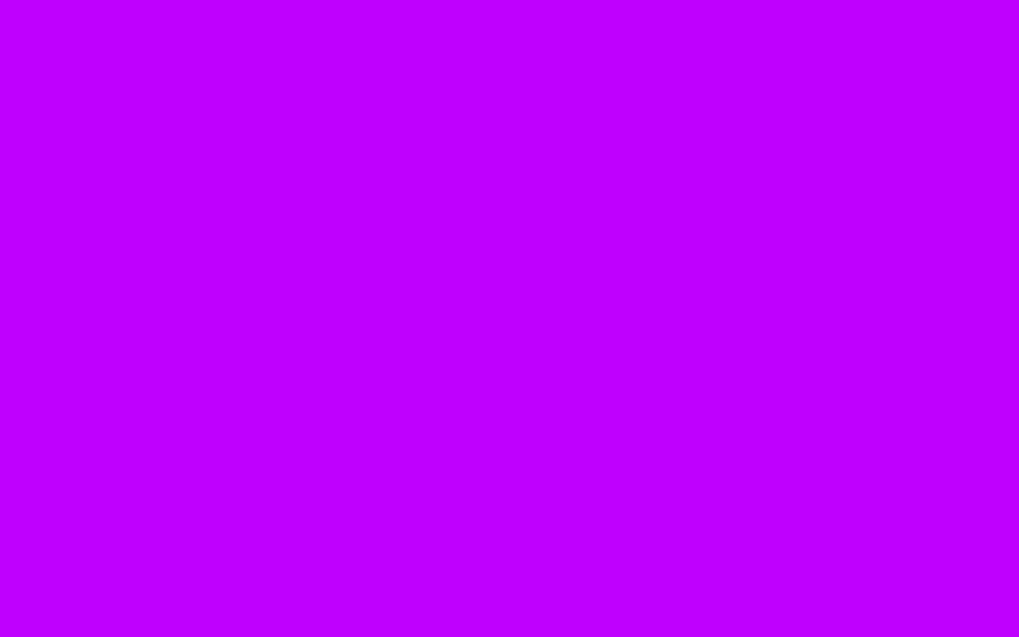 1440x900 Electric Purple Solid Color Background
