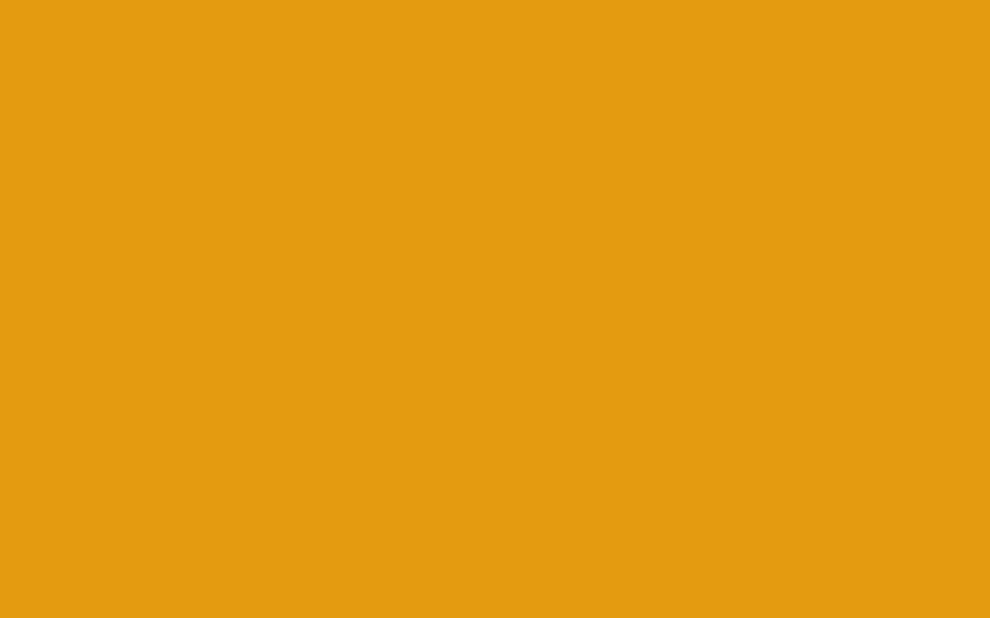1440x900 Gamboge Solid Color Background