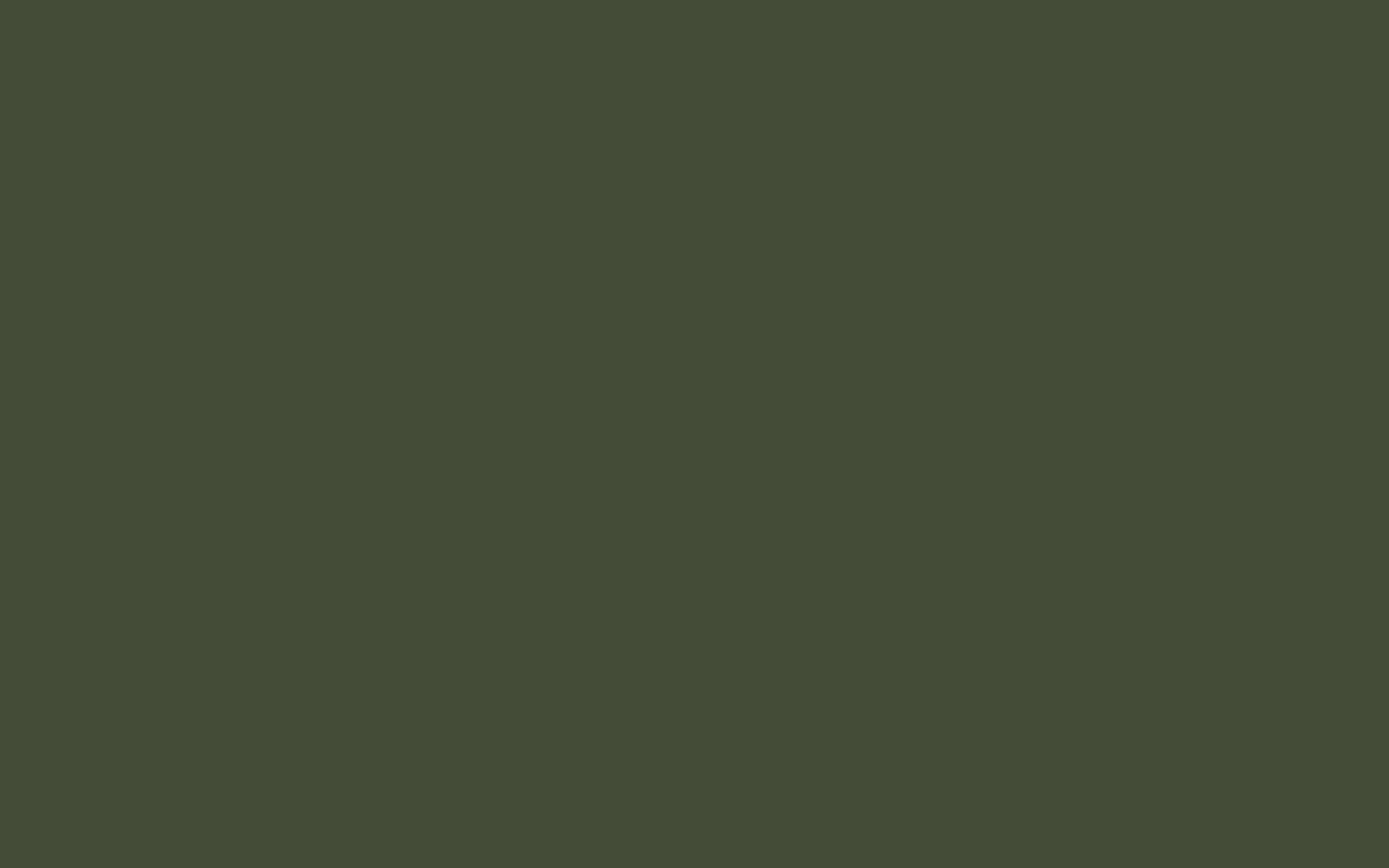 1440x900 Rifle Green Solid Color Background