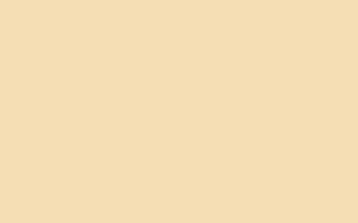 1440x900 Wheat Solid Color Background