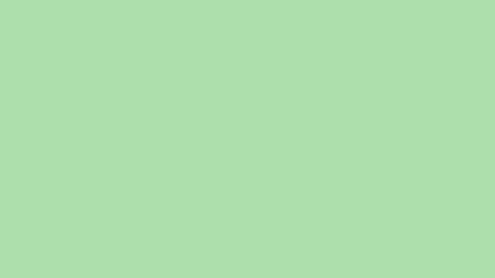 1600x900 Light Moss Green Solid Color Background