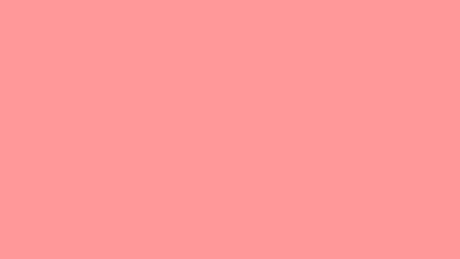 1600x900 Light Salmon Pink Solid Color Background