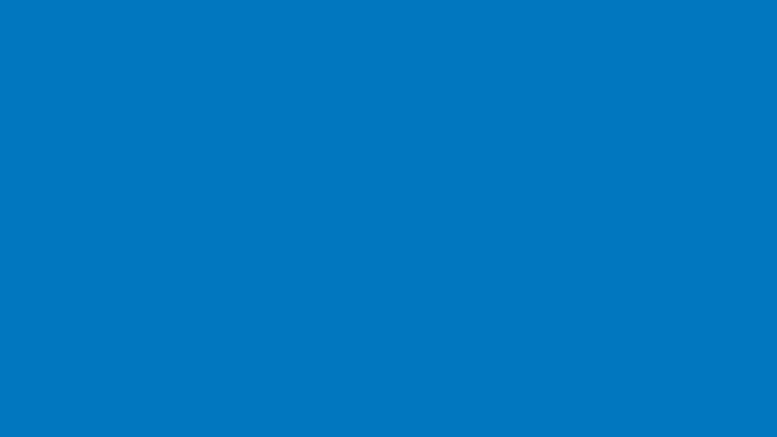 1600x900 Ocean Boat Blue Solid Color Background