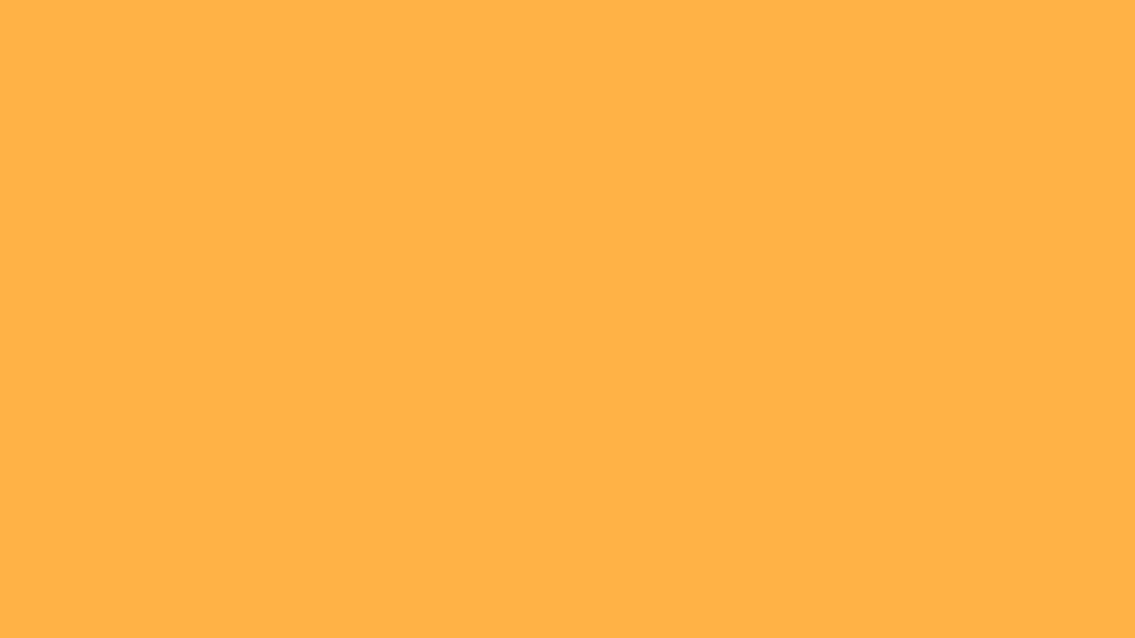 1600x900 Pastel Orange Solid Color Background