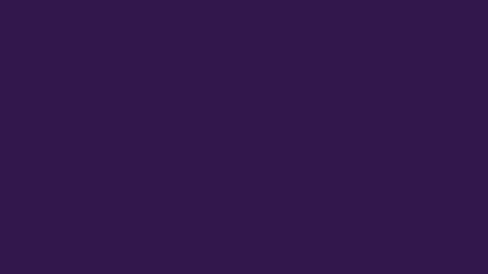1600x900 Russian Violet Solid Color Background