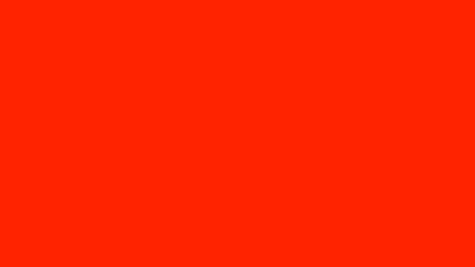 1600x900 Scarlet Solid Color Background