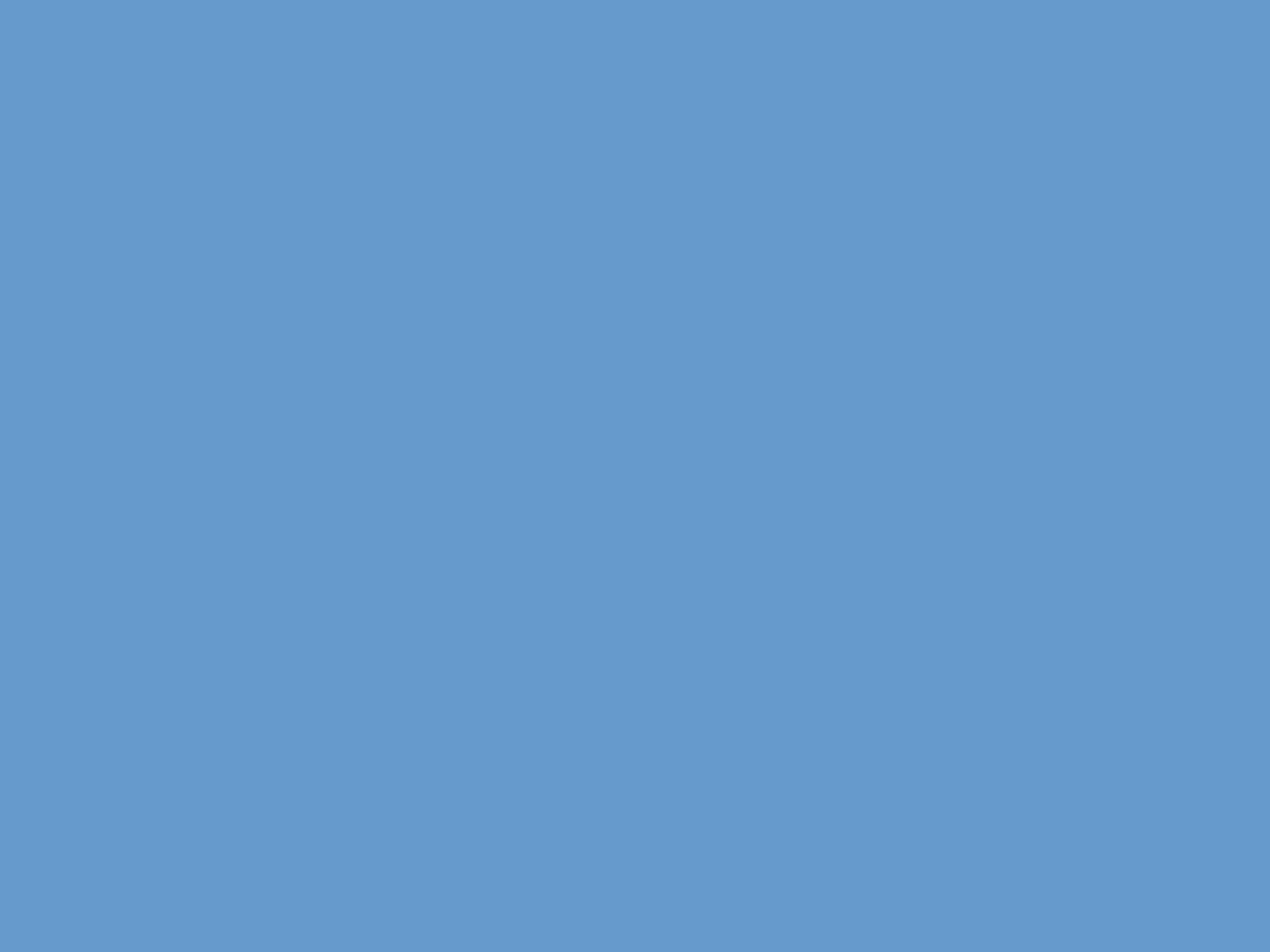 2048x1536 Blue-gray Solid Color Background