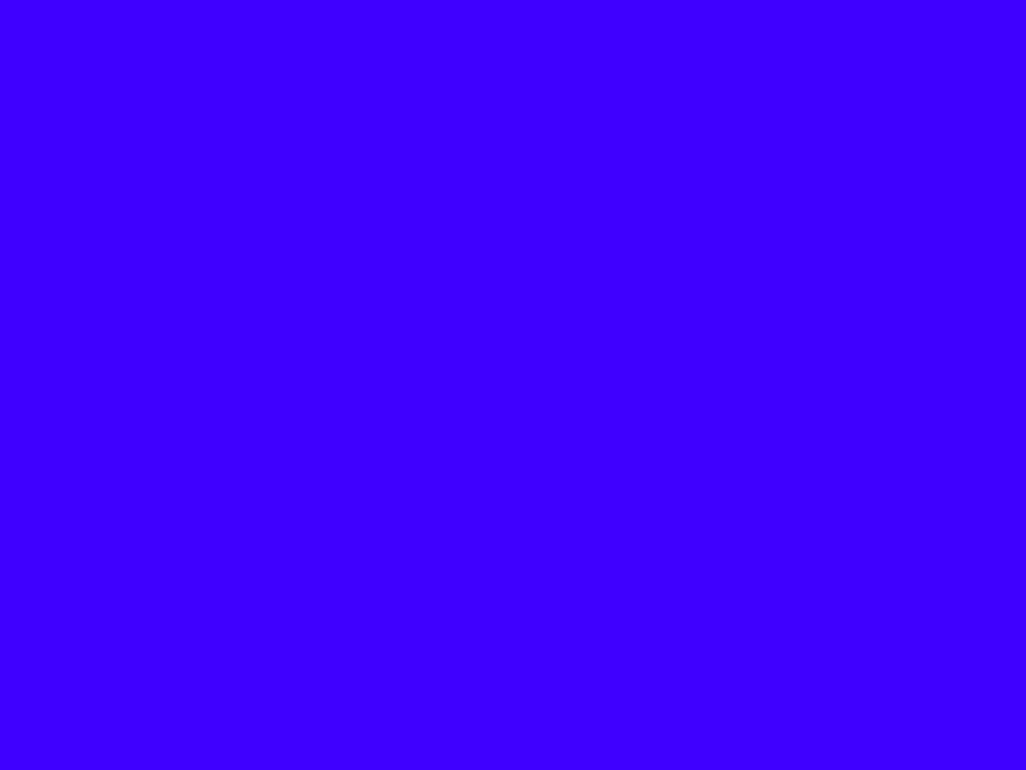 2048x1536 Electric Ultramarine Solid Color Background