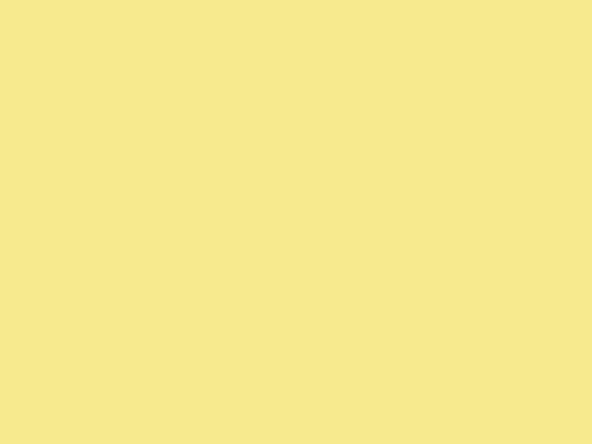 2048x1536 Flavescent Solid Color Background