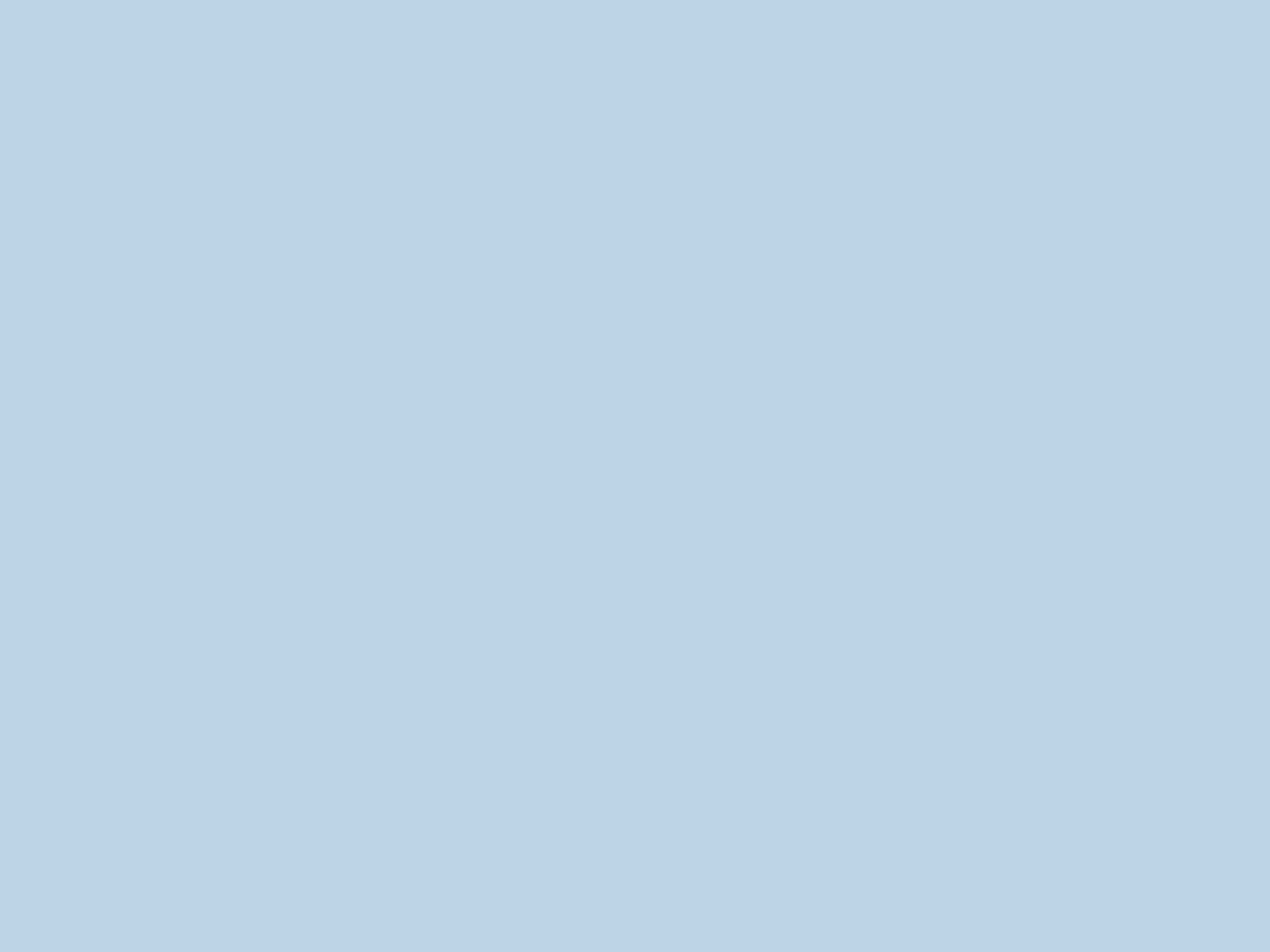 2048x1536 Pale Aqua Solid Color Background
