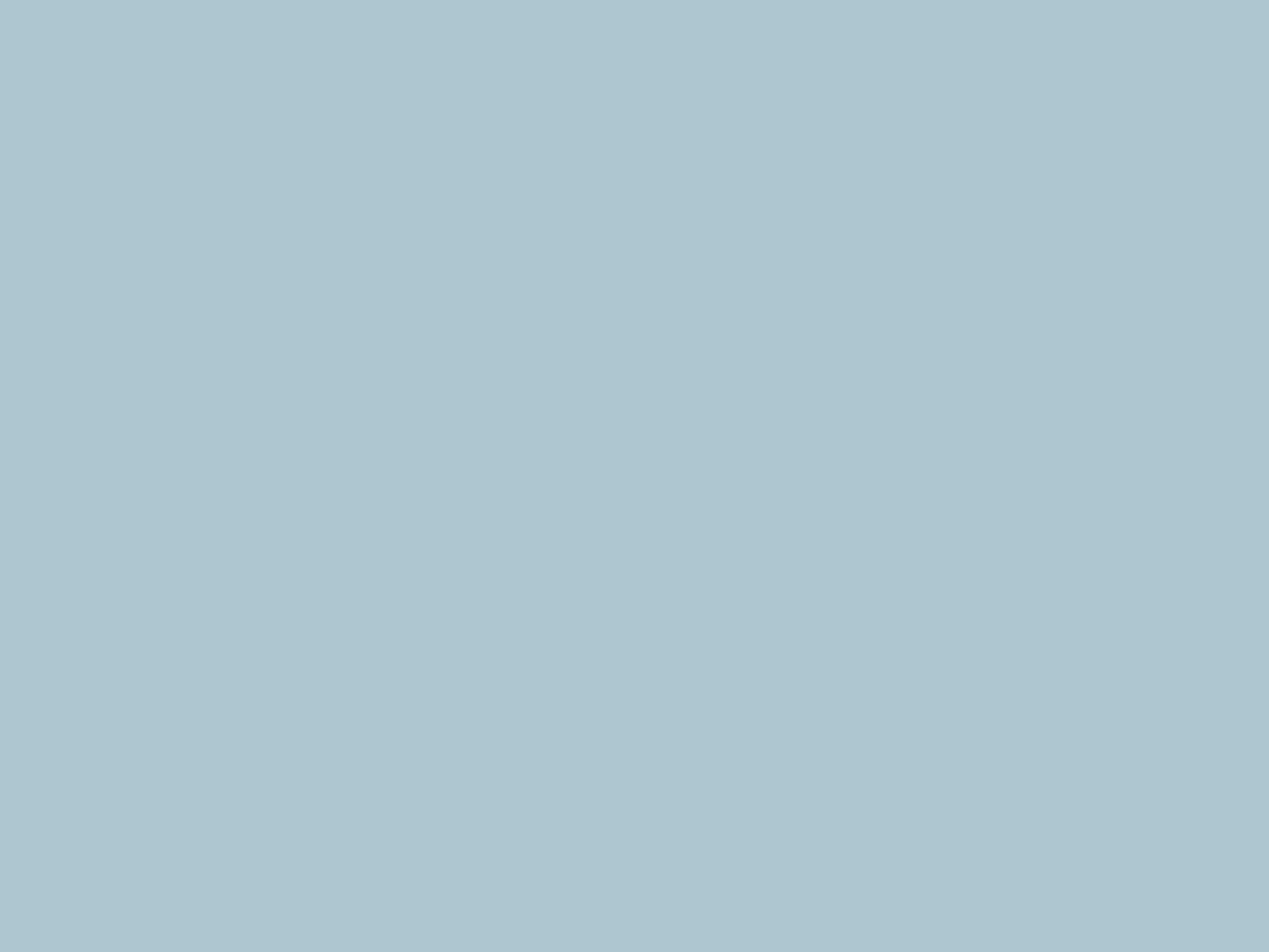 2048x1536 Pastel Blue Solid Color Background