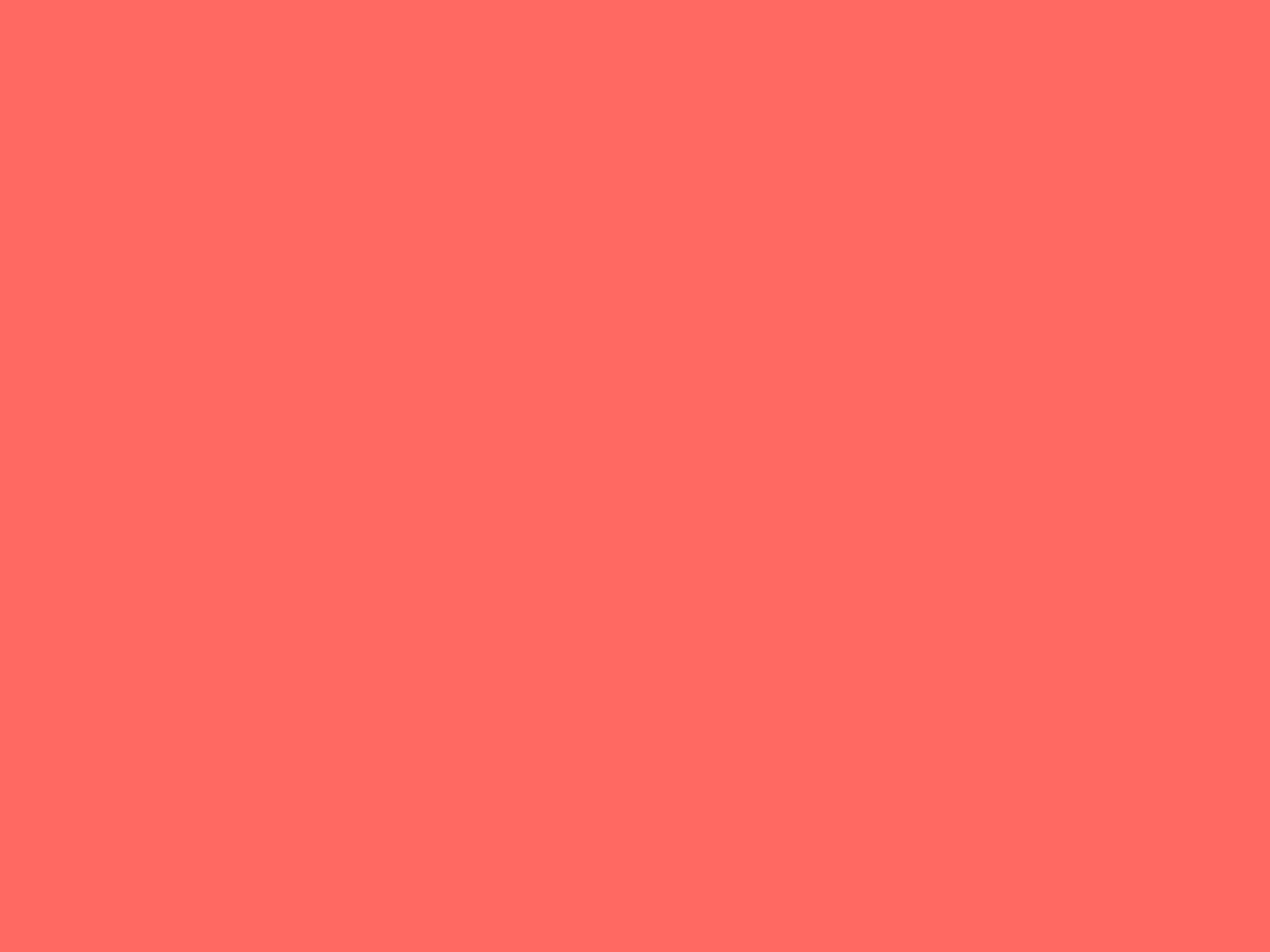 2048x1536 Pastel Red Solid Color Background