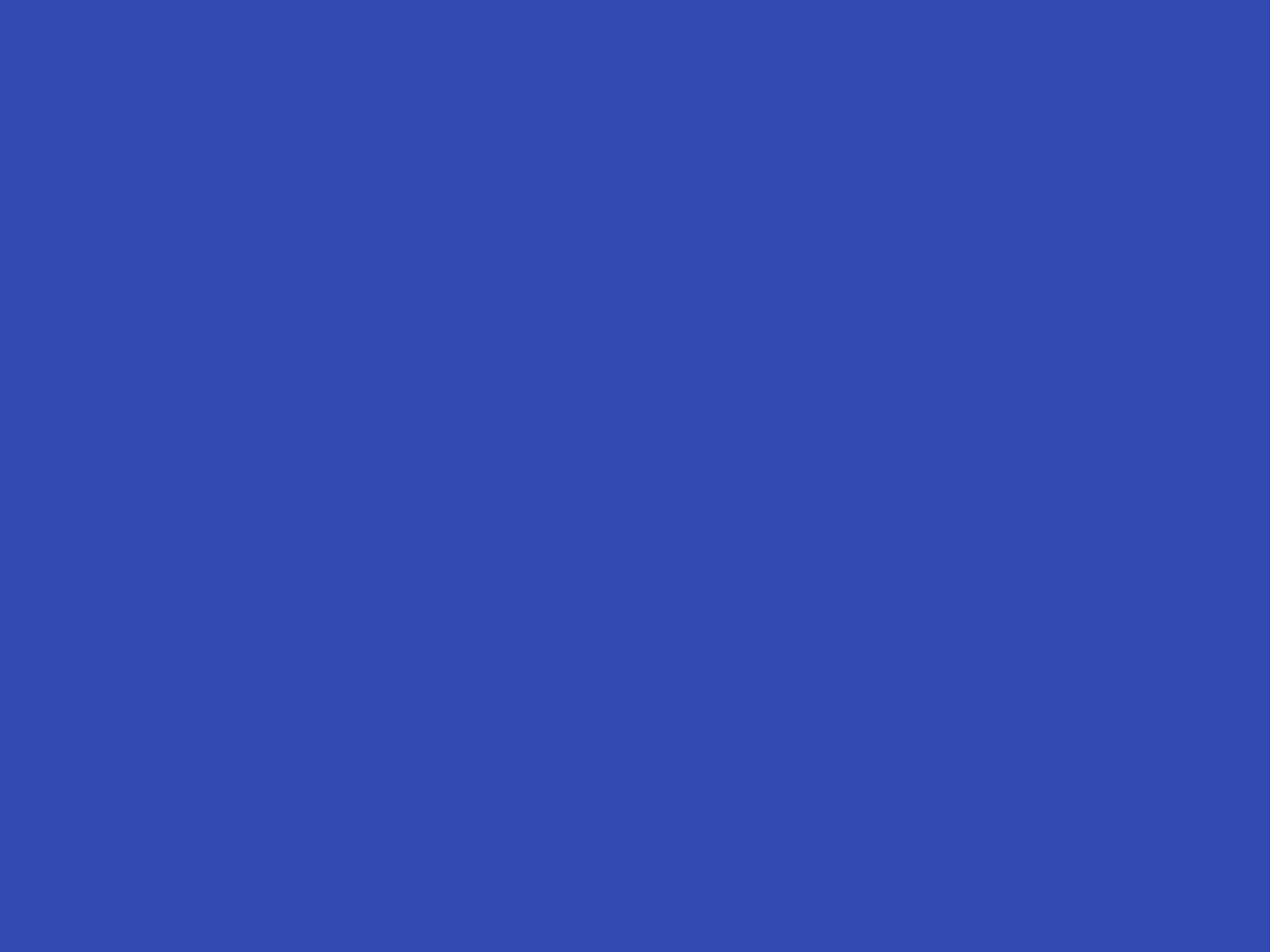 2048x1536 Violet-blue Solid Color Background