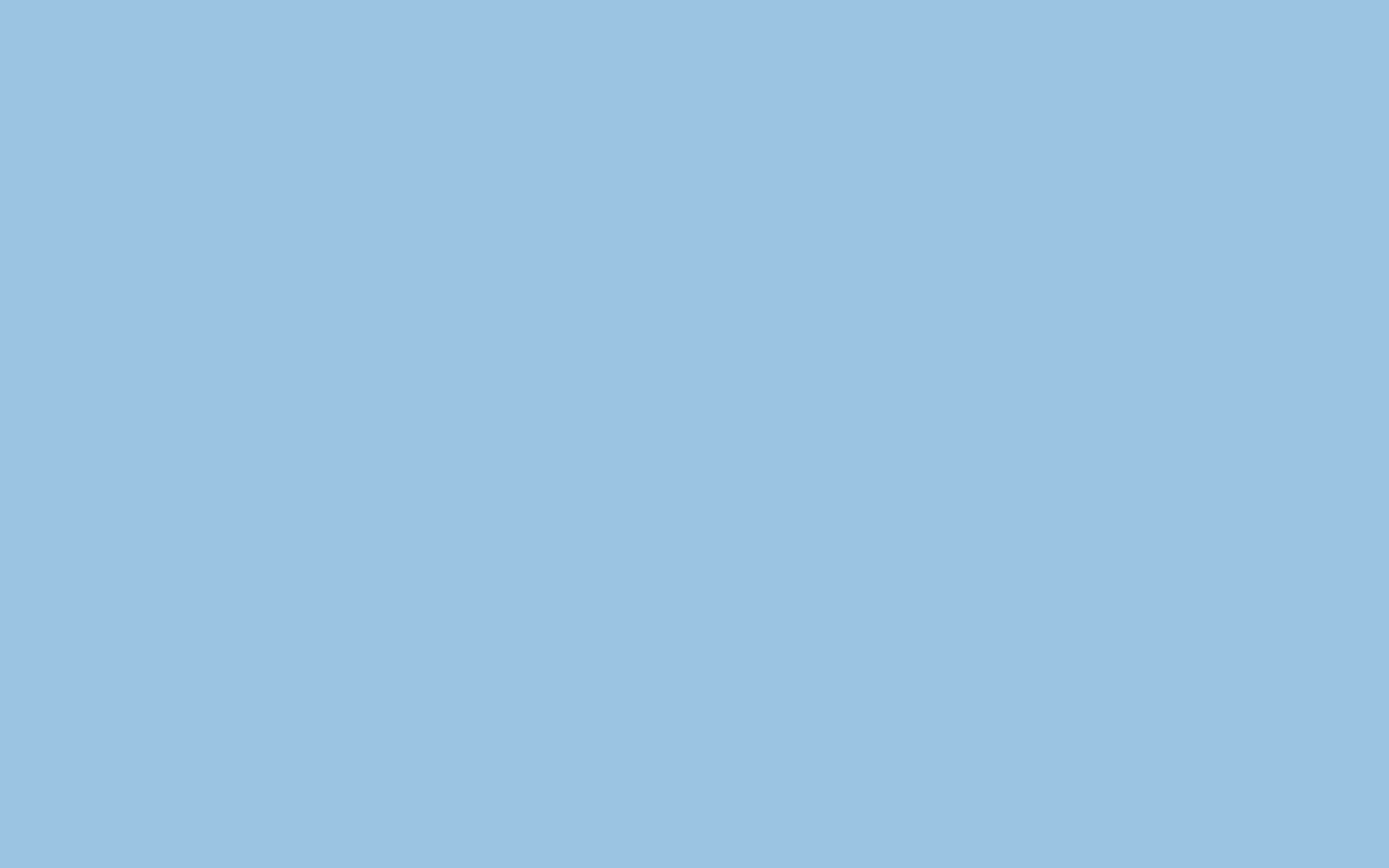 2304x1440 Pale Cerulean Solid Color Background