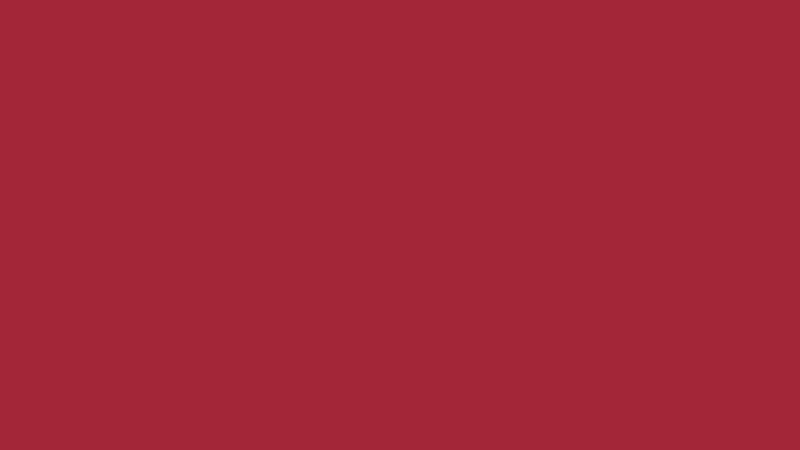 2560x1440 Alabama Crimson Solid Color Background