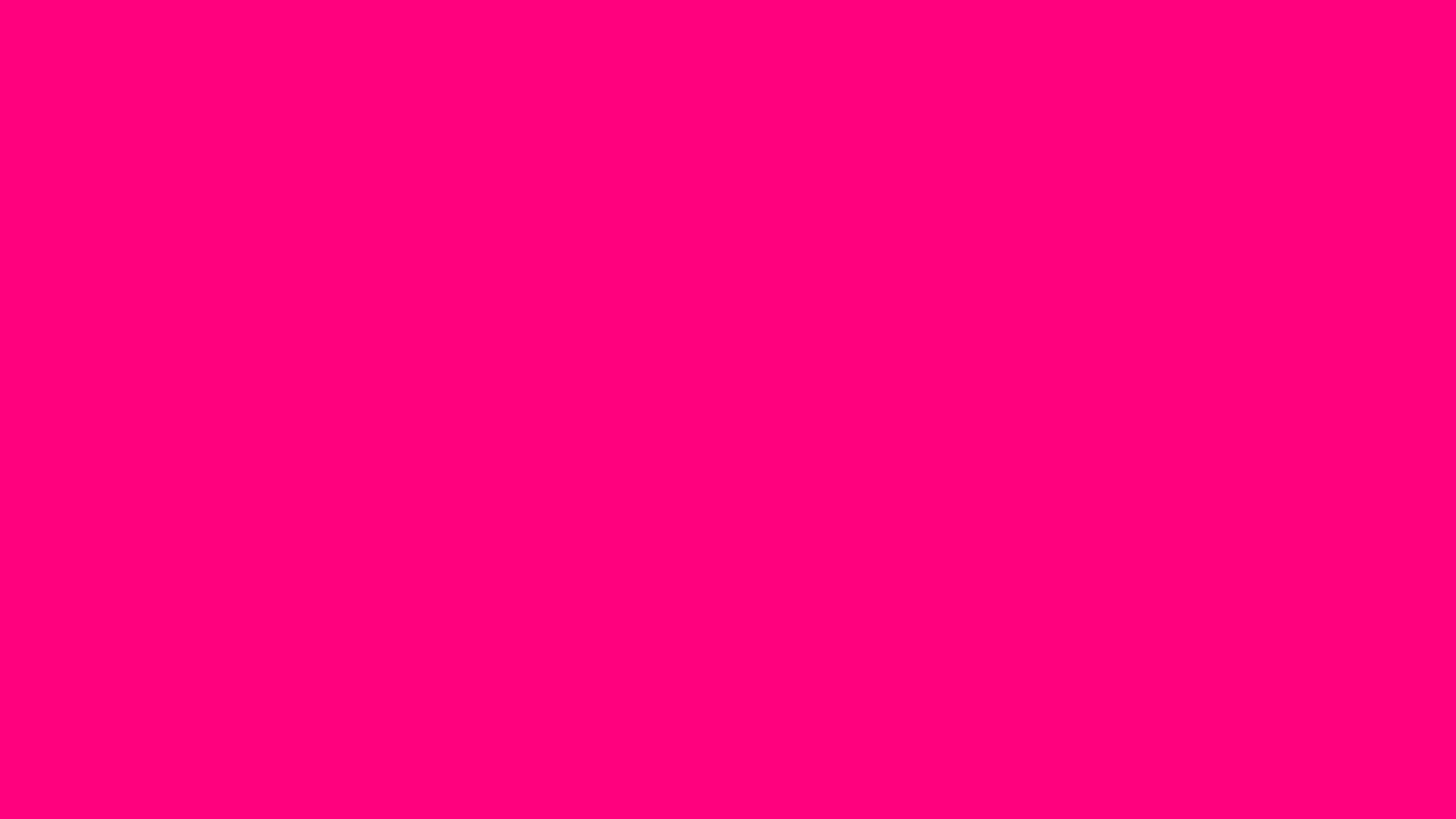 2560x1440 Bright Pink Solid Color Background