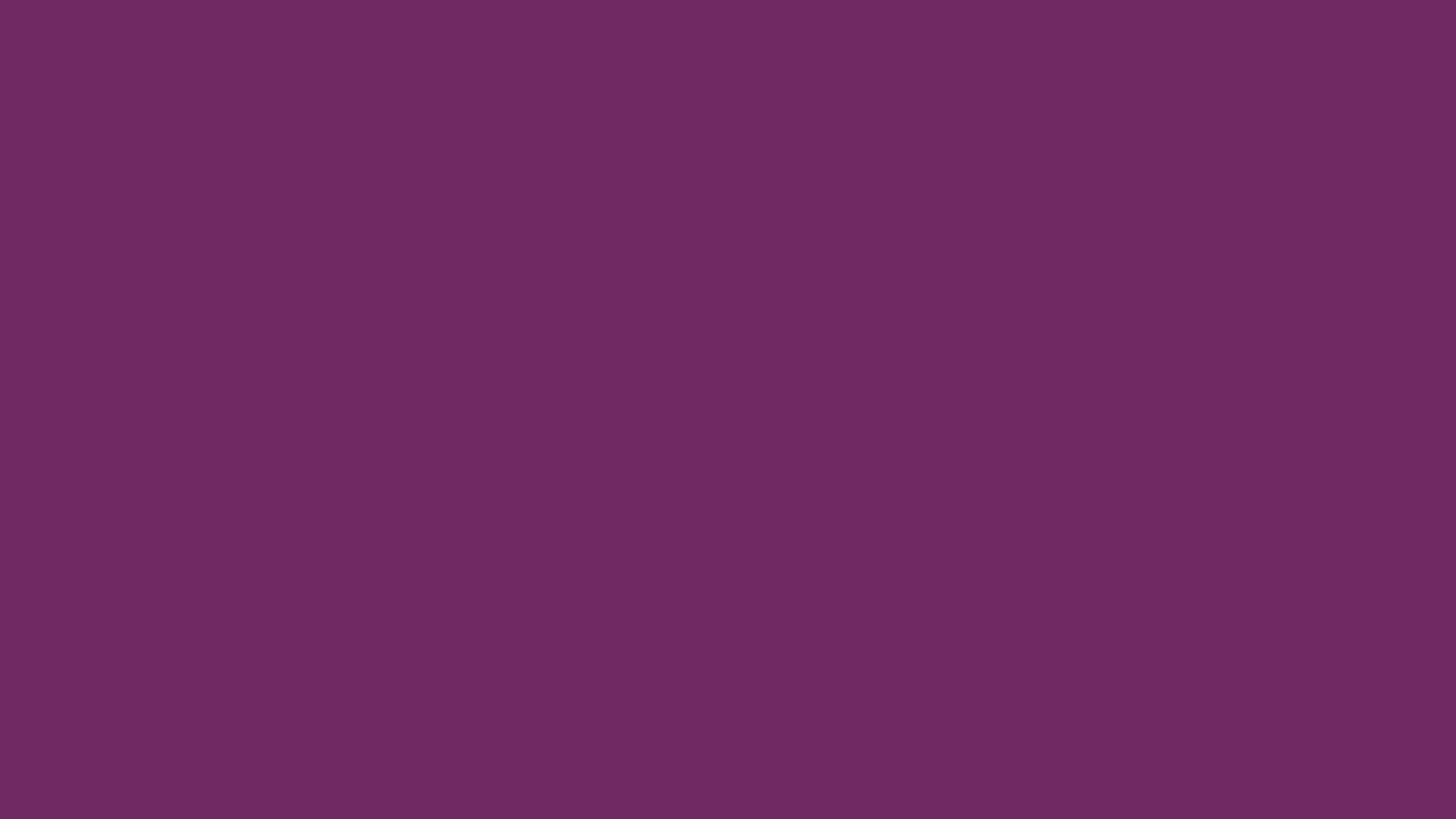2560x1440 Byzantium Solid Color Background