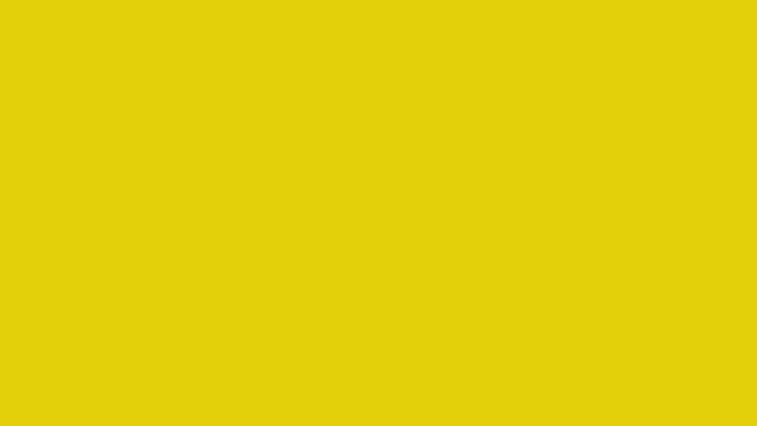 2560x1440 Citrine Solid Color Background