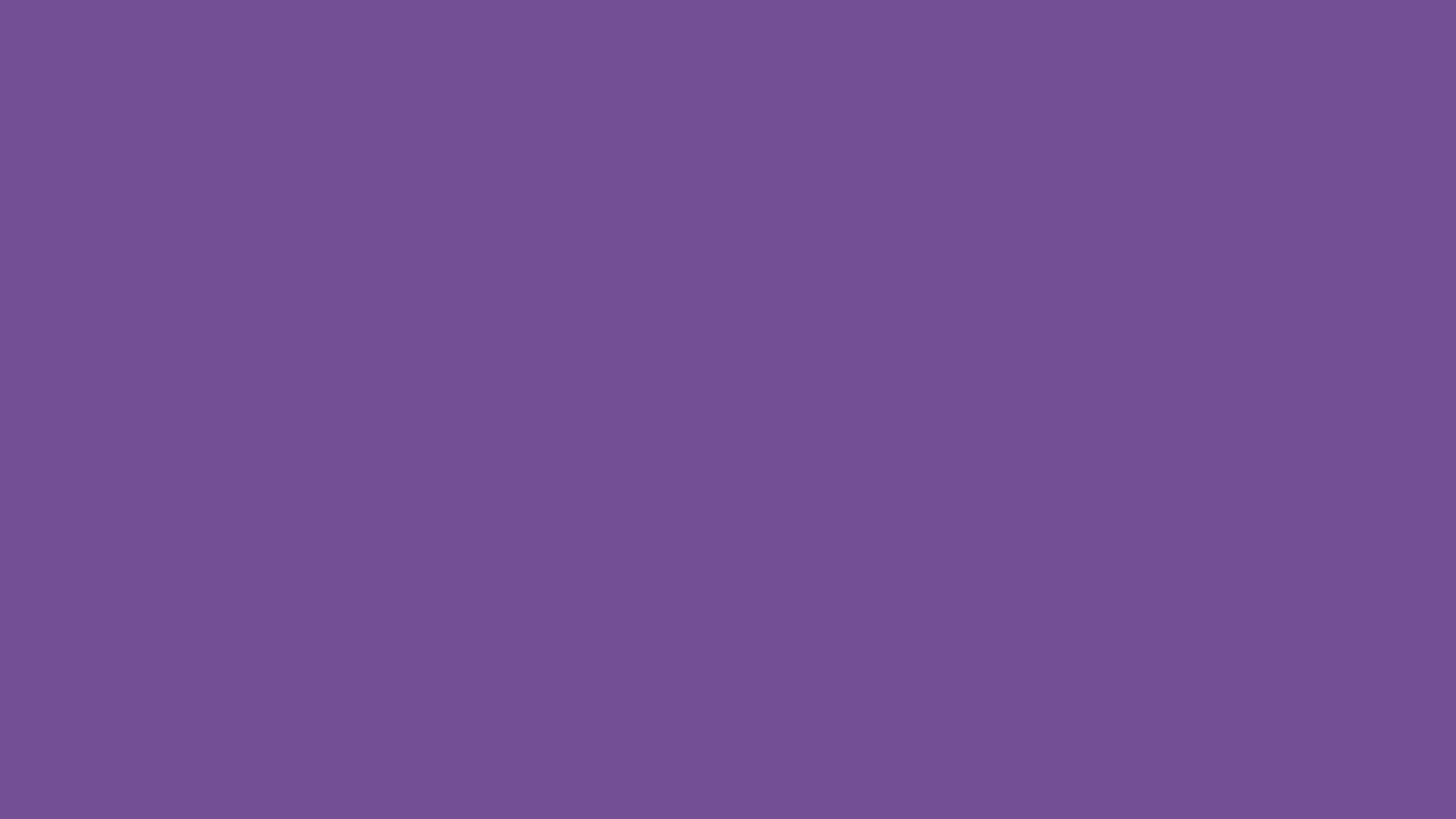 2560x1440 Dark Lavender Solid Color Background