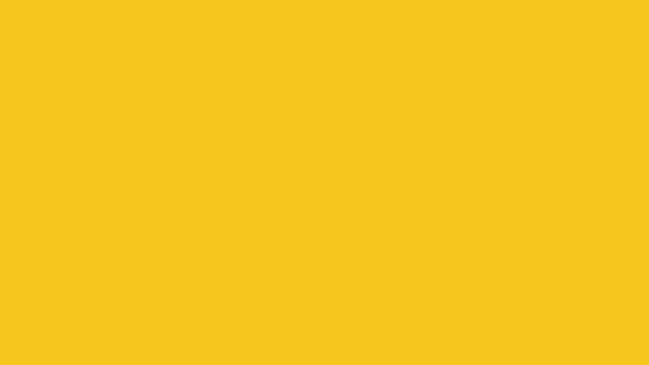 2560x1440 Deep Lemon Solid Color Background