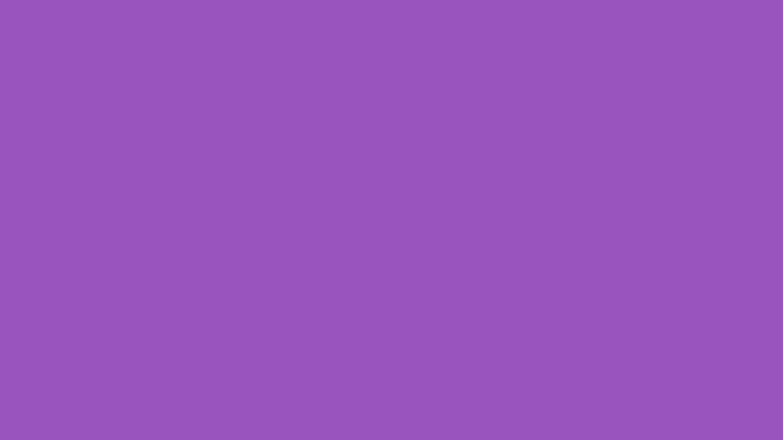 2560x1440 Deep Lilac Solid Color Background