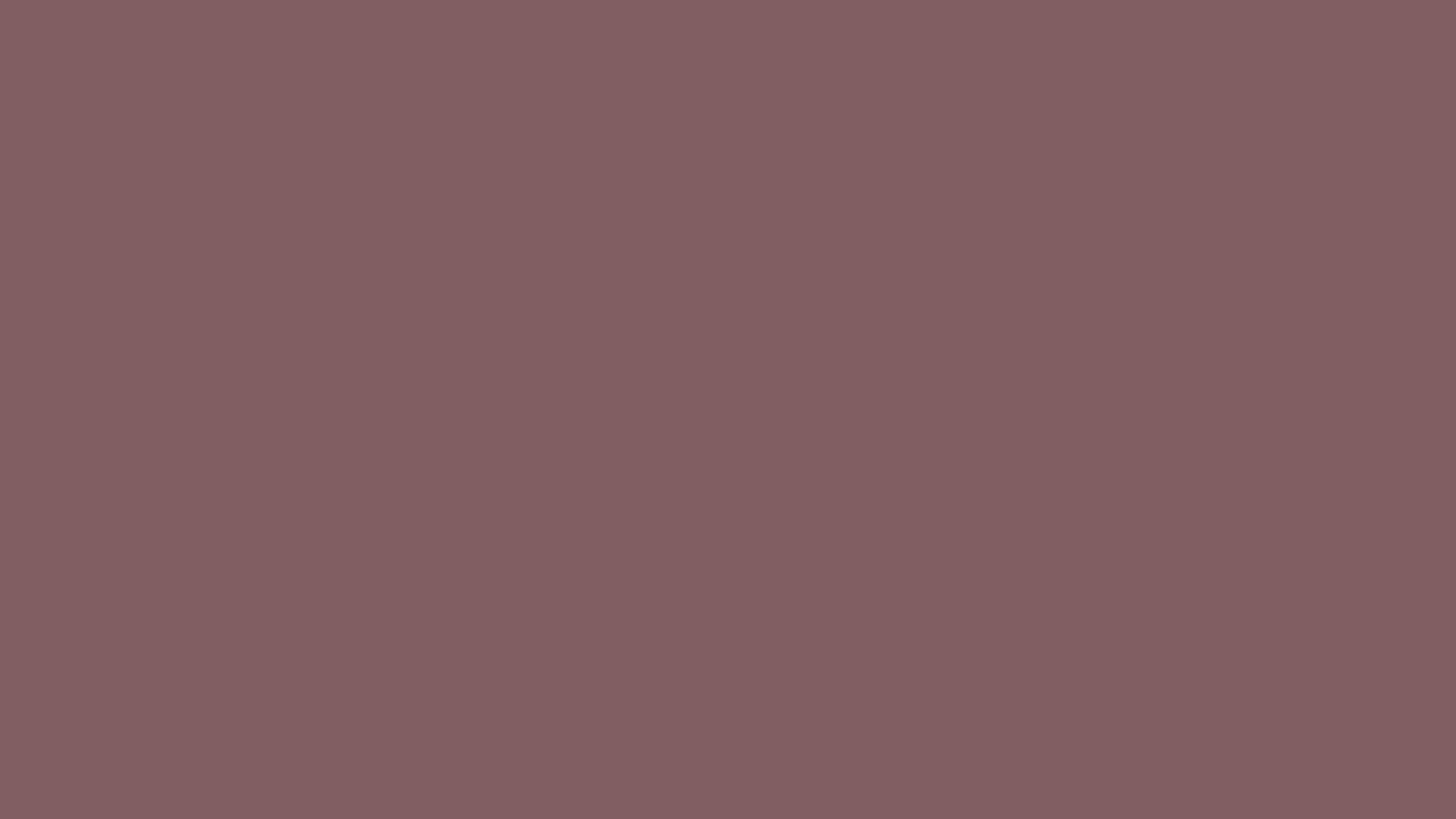 2560x1440 Deep Taupe Solid Color Background