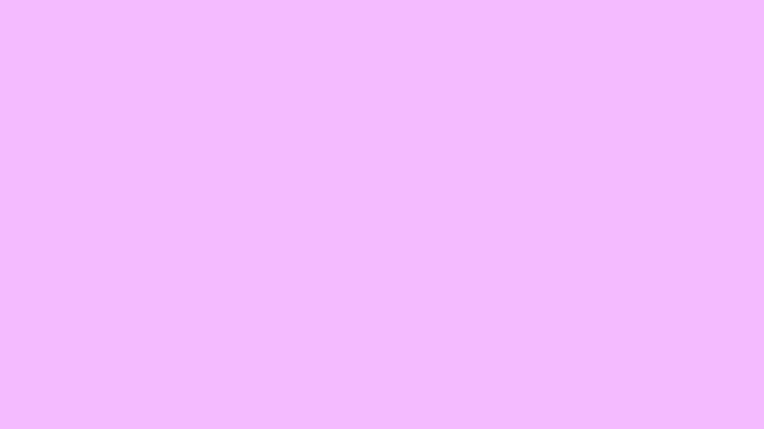 2560x1440 Electric Lavender Solid Color Background