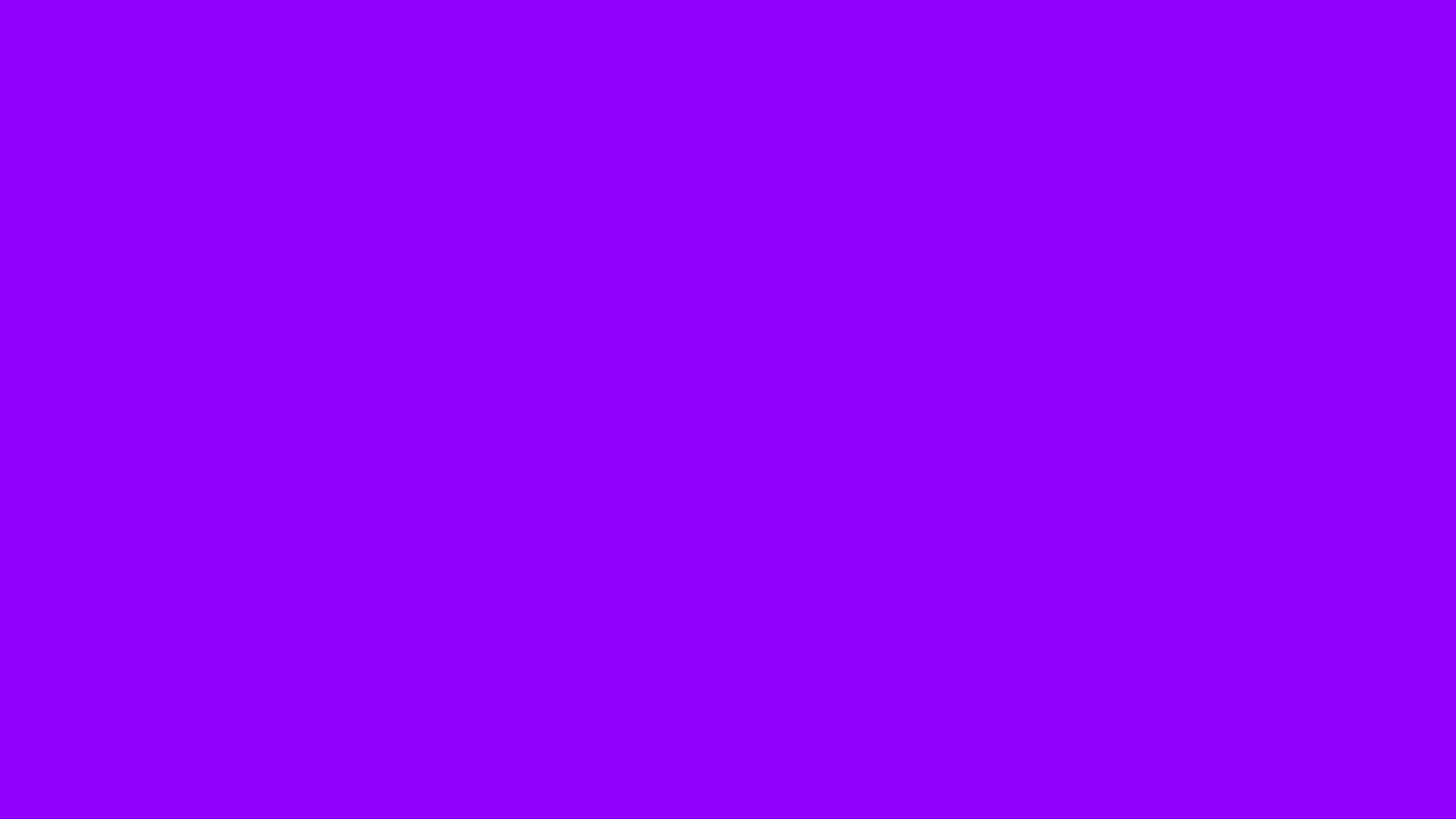 2560x1440 Electric Violet Solid Color Background