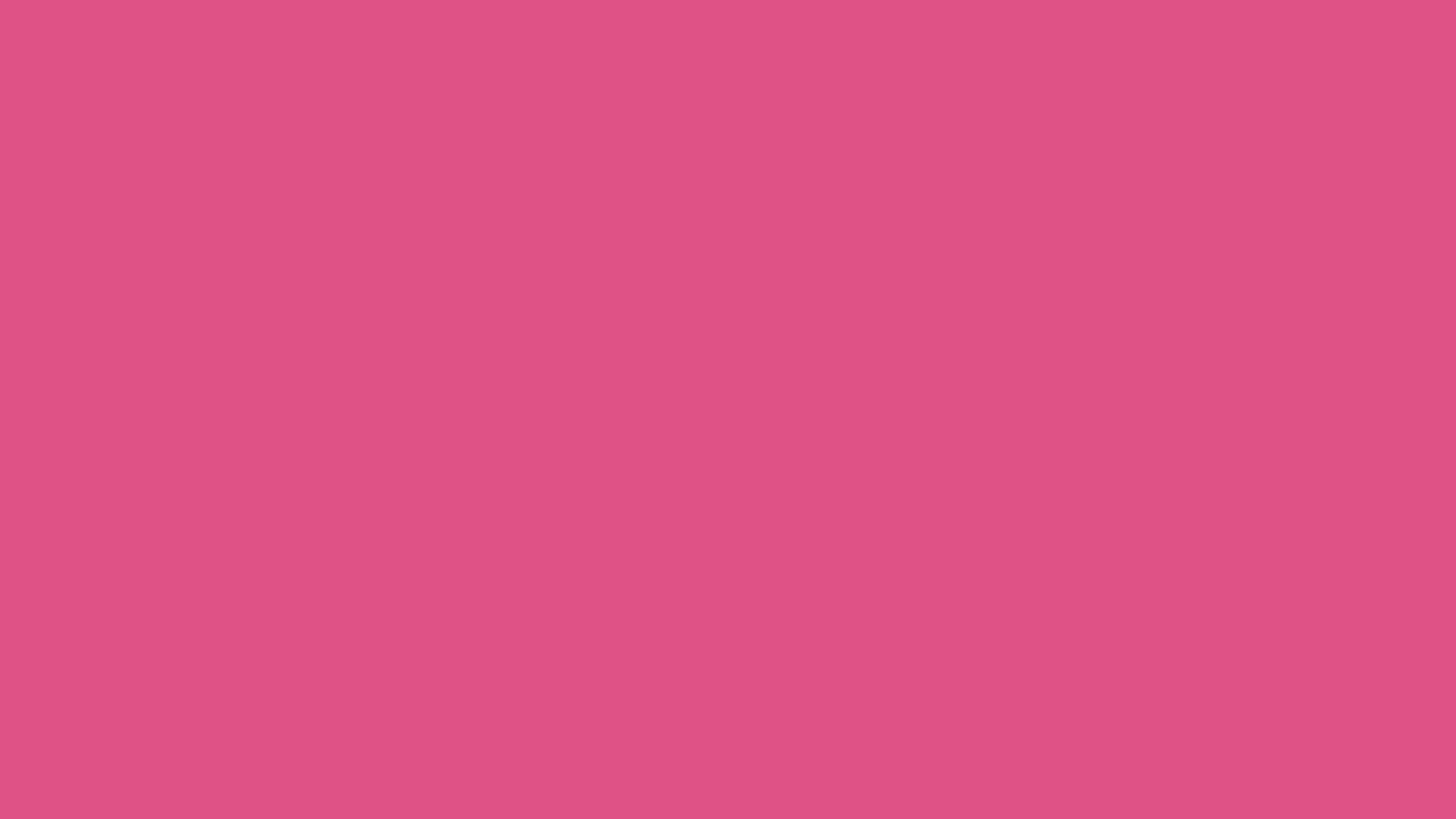 2560x1440 Fandango Pink Solid Color Background