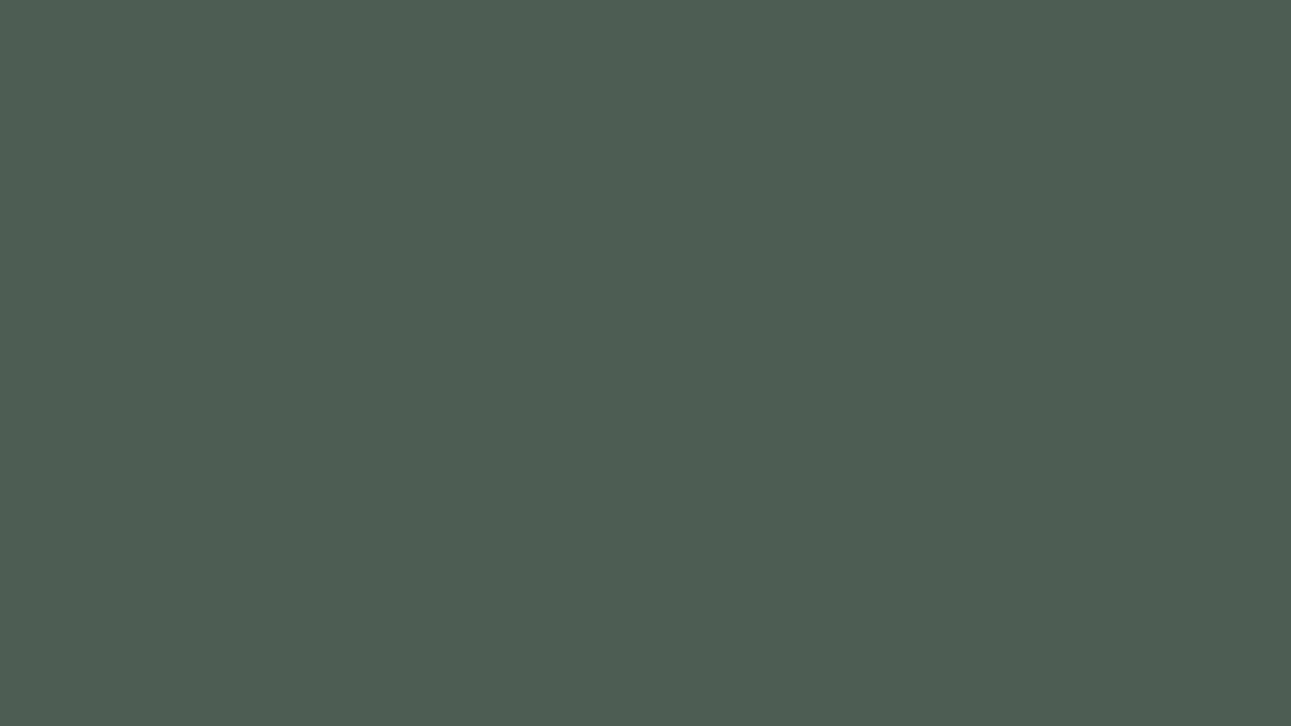 2560x1440 Feldgrau Solid Color Background