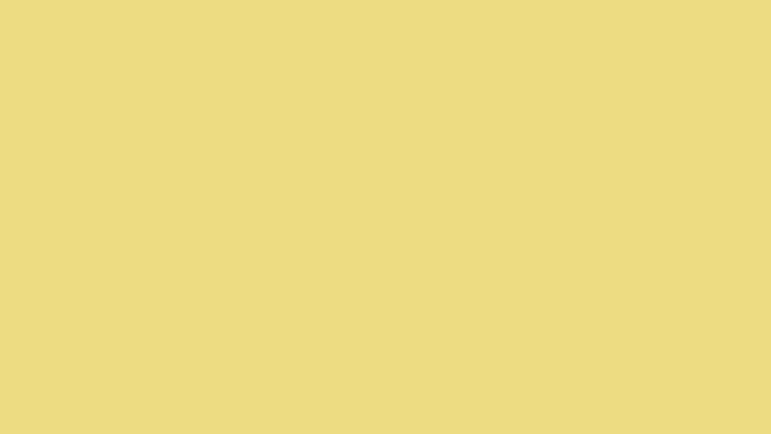 2560x1440 Flax Solid Color Background