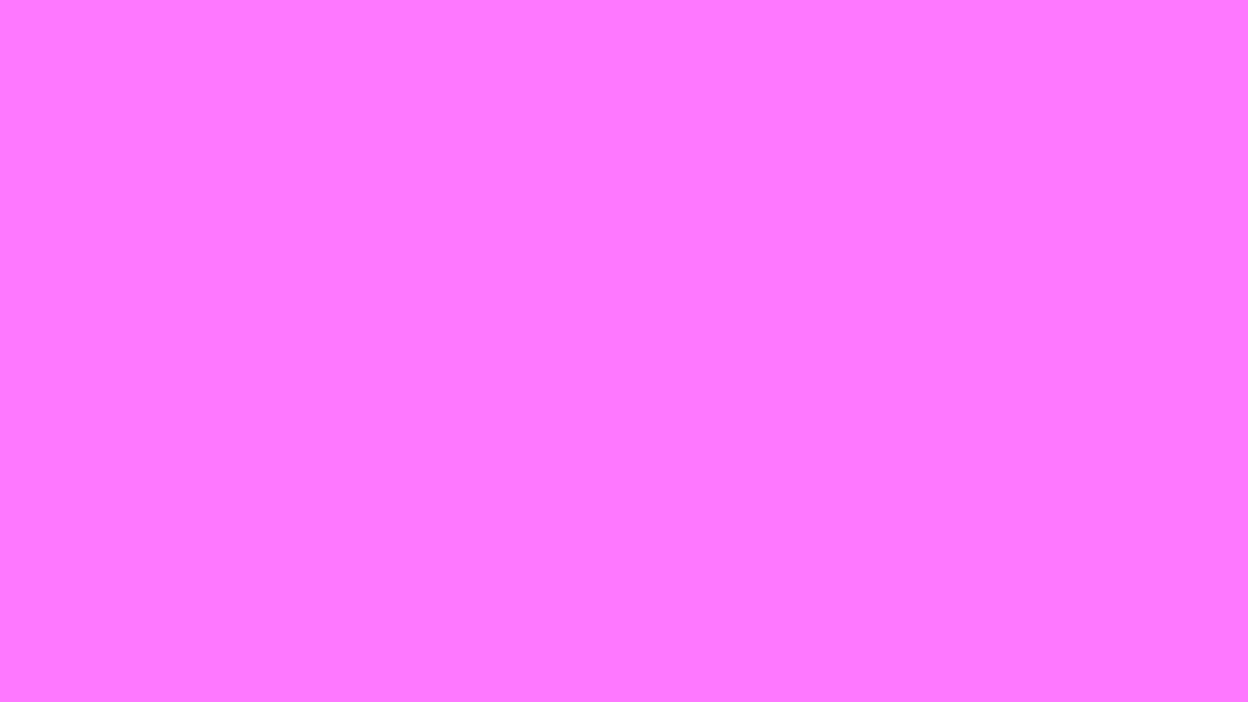 2560x1440 Fuchsia Pink Solid Color Background