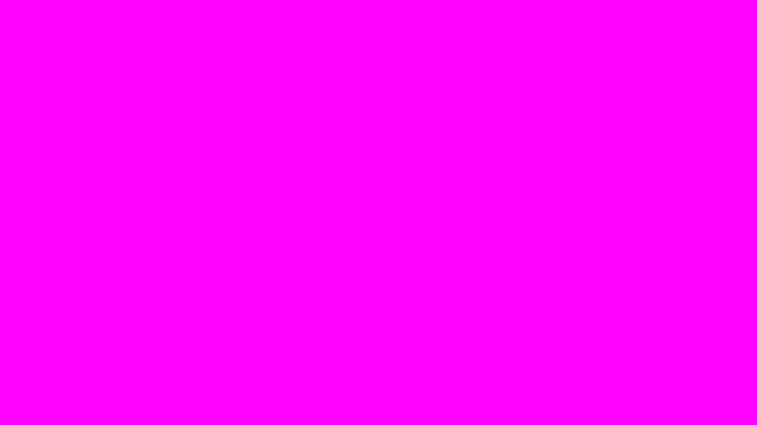 2560x1440 Fuchsia Solid Color Background