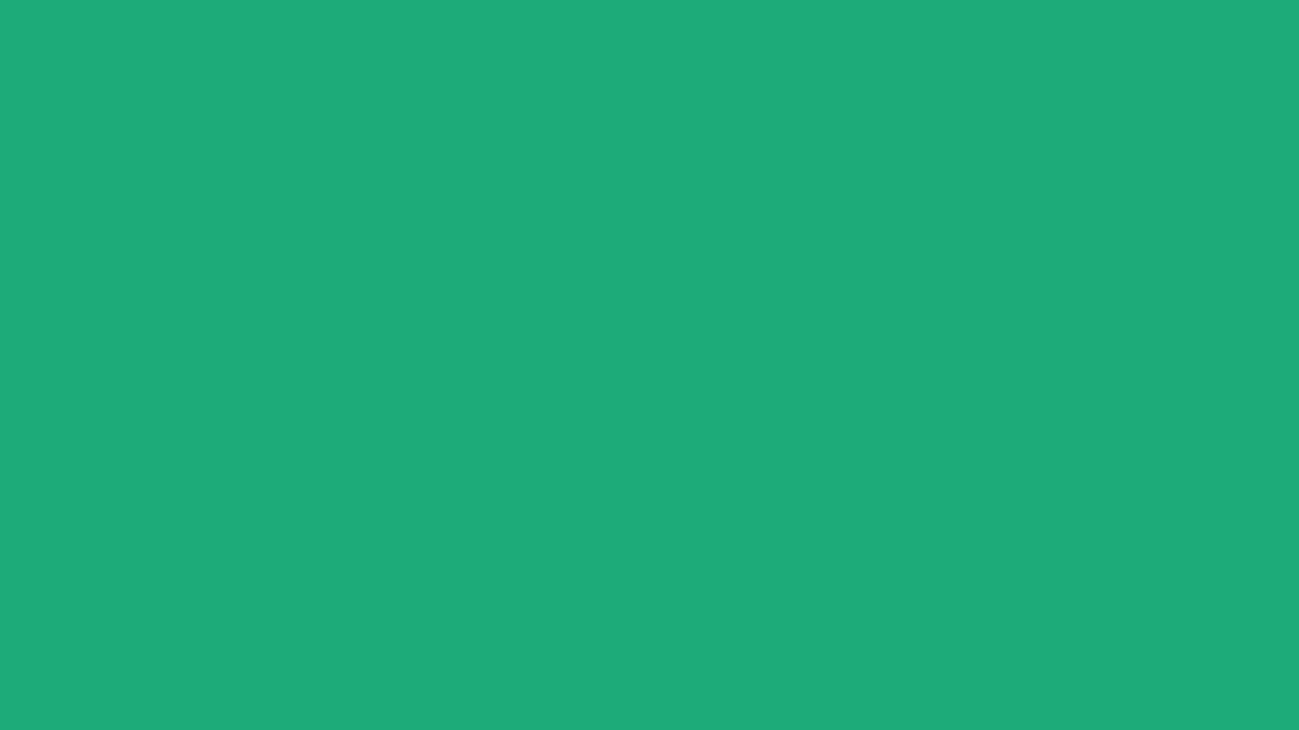 2560x1440 Green Crayola Solid Color Background