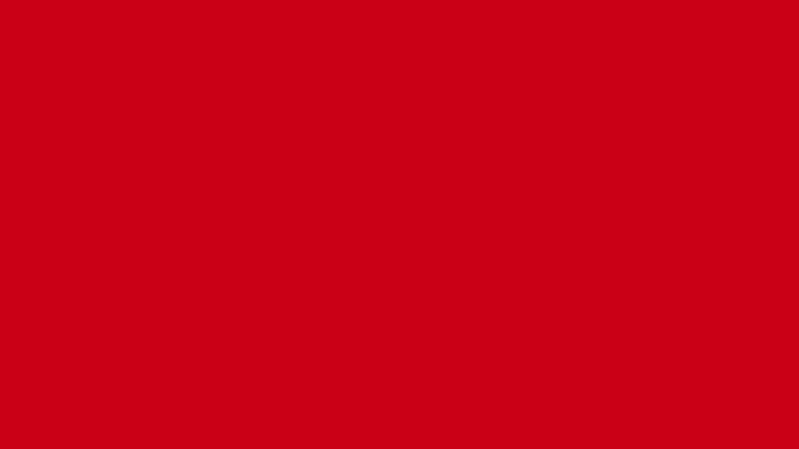 2560x1440 Harvard Crimson Solid Color Background