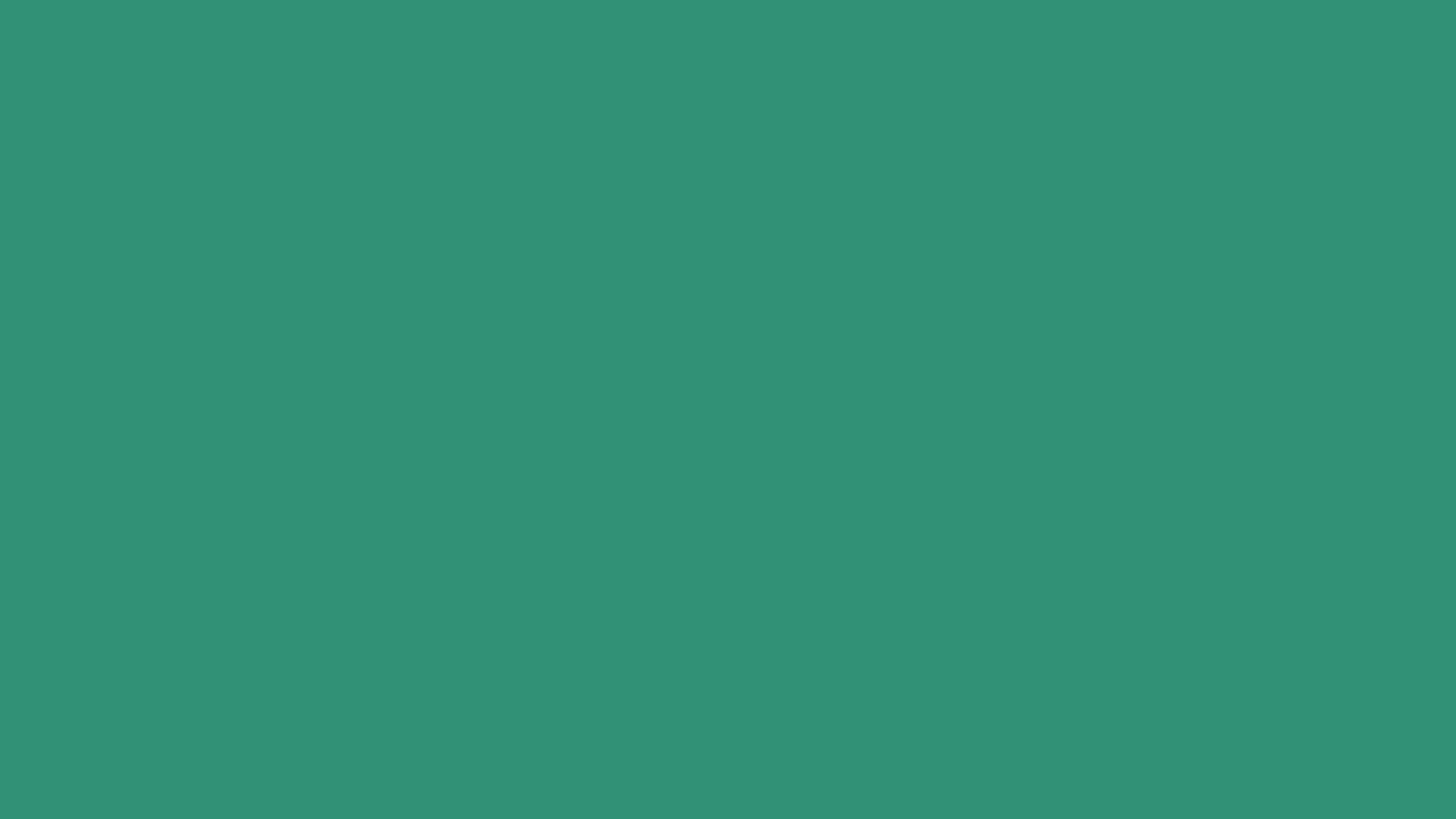 2560x1440 Illuminating Emerald Solid Color Background