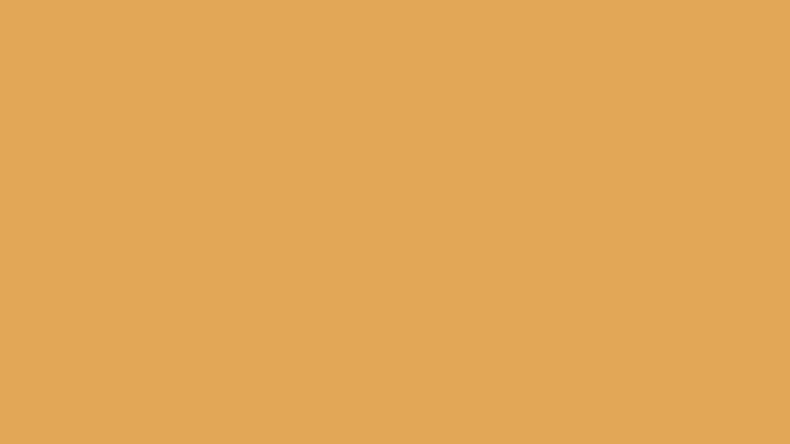 2560x1440 Indian Yellow Solid Color Background