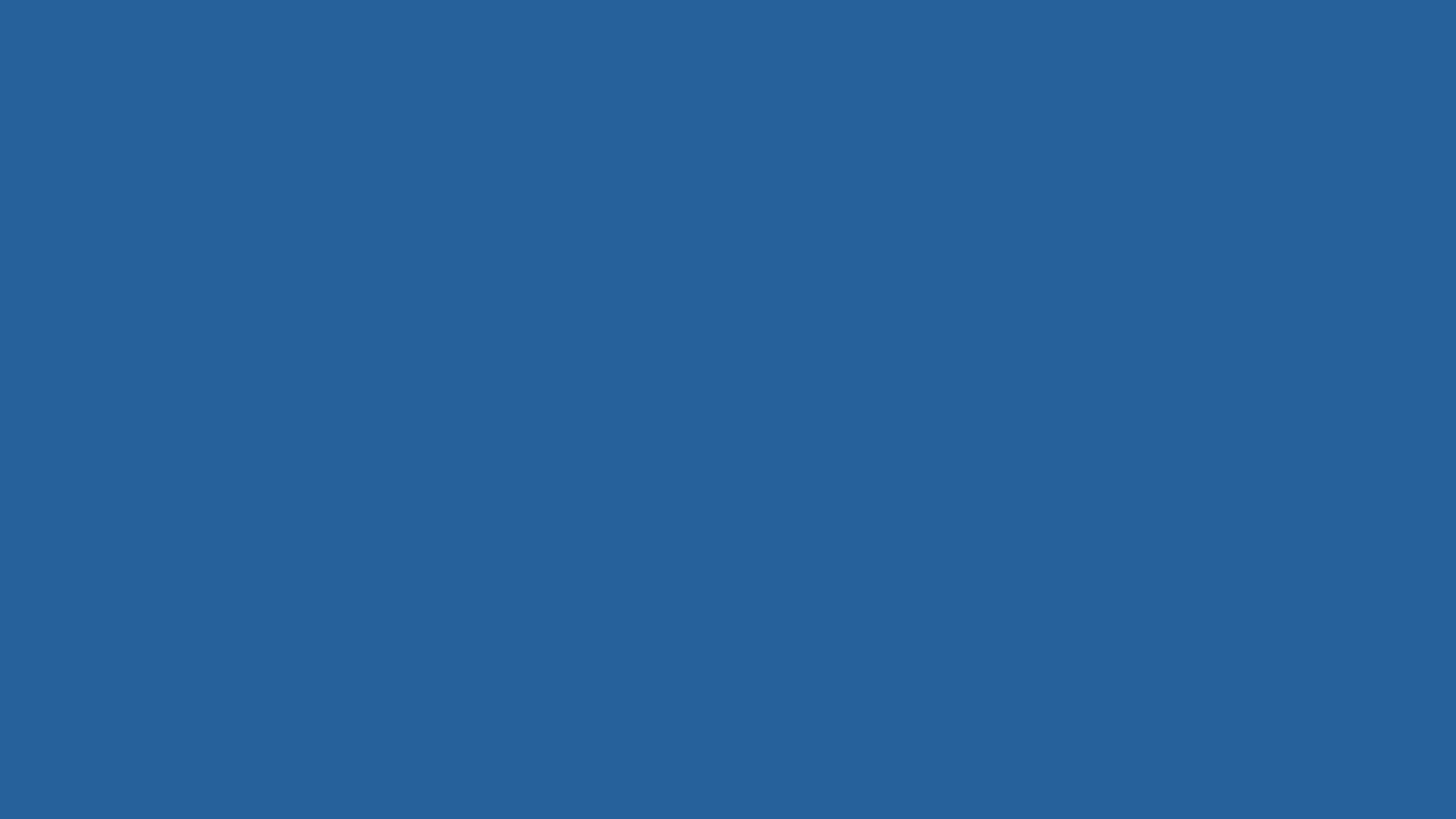 2560x1440 Lapis Lazuli Solid Color Background
